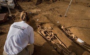 Les fouilles de Vitry