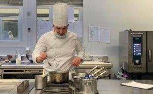 Matthieu Meusnier, participant girondin à l'émission Objectif Top Chef.