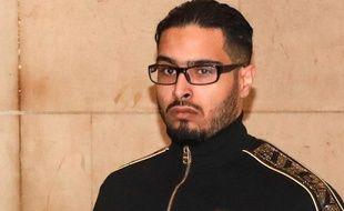 Jawad Bendaoud, le 21 novembre 2018 lors de son procès à Paris.