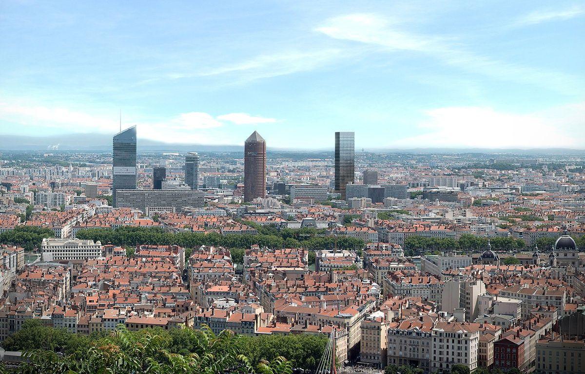 La future tour Two Lyon devrait être livrée en 2022. – DPA Architectes