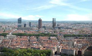 La future tour Two Lyon devrait être livrée en 2022.