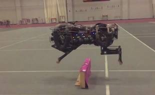 Cheetah 2, le robot guépard.