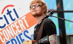 Le chanteur Ed Sheeran lors du Today' Show Summer Concert à New York