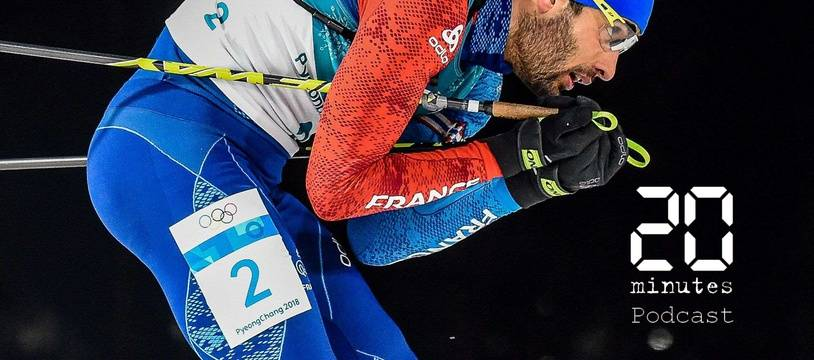 Martin Fourcade, biathlète, durant la mass start aux JO d'hiver à Pyeongchang, en Corée du sud, le 18 février 2018