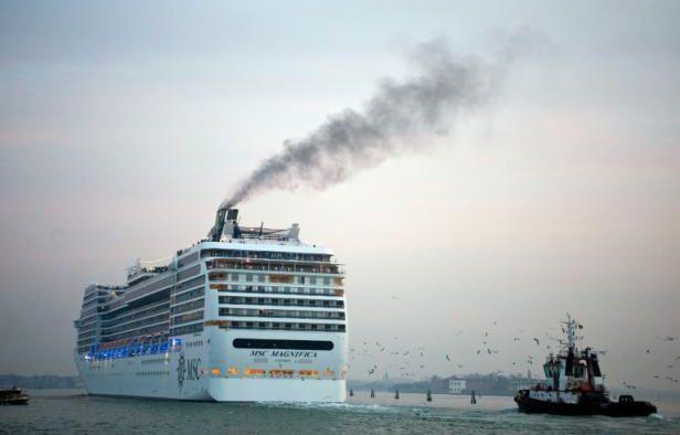 Un bateau de croisière. – ANDREA PATTARO AFP