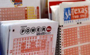 Un ticket de la loterie américaine Powerball.