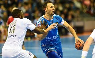 Jérôme Fernandez sous le maillot du Fenix Toulouse. L'international a rejoint Aix cet été.