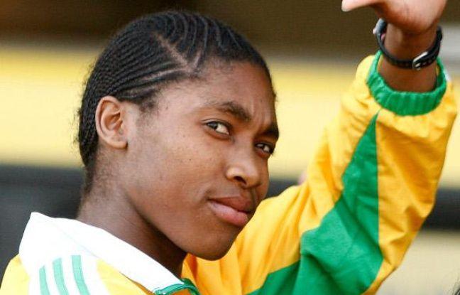 L'athlète sud-africaine Caster Semenya, le 25 août 2009 à Johannesbourg.