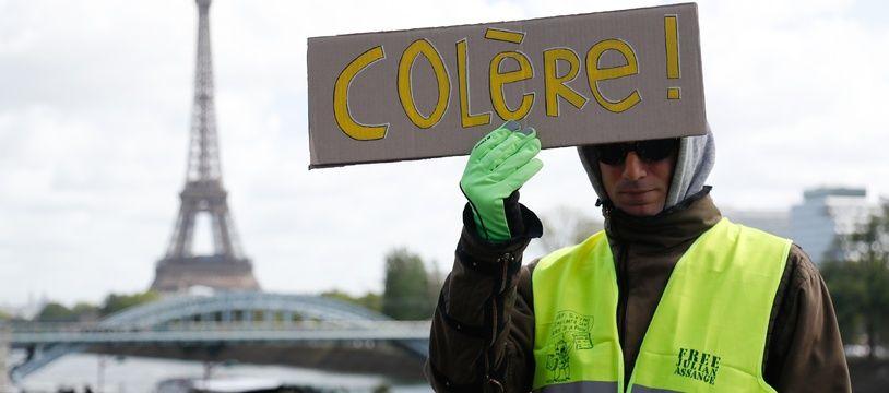 """Les """"gilets jaunes"""" continuent leur mobilisation ce samedi avec l'acte 56"""