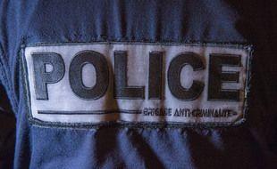 Un policer d'une brigade anticriminalité (BAC). Illustration.
