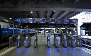 La gare Montparnasse en pleine grève (image d'illustration).