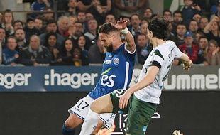 Les Strasbourgeois d'Anthony Gonçalves étaient un peu écœurés après leur défaite contre Saint-Etienne au stade de la Meinau (0-1).