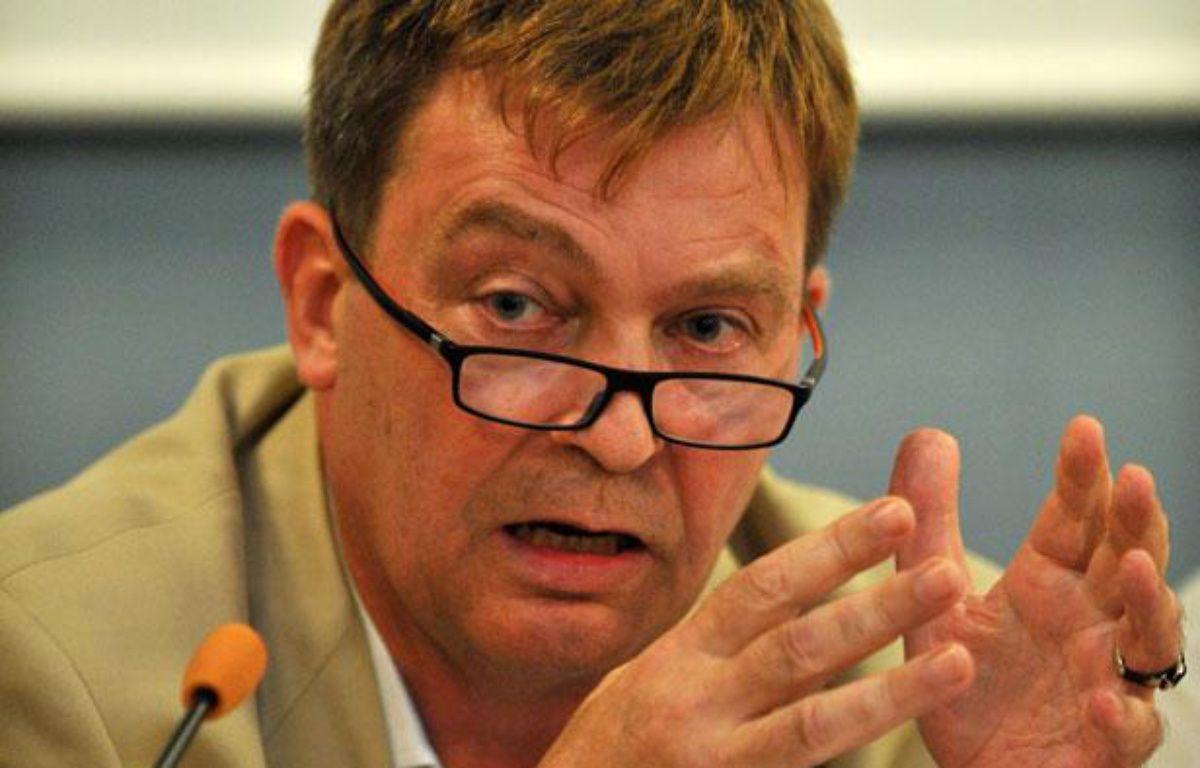 Pierre Henry, le 27 août 2011 à La Rochelle (Charente-Maritime). – PIERRE ANDRIEU / AFP