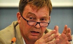 Pierre Henry, le 27 août 2011 à La Rochelle (Charente-Maritime).