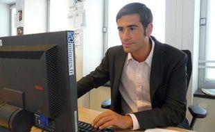 """Benjamin Lancar le président des """"Jeunes Populaires"""" répond aux questions des internautes lors d'un chat à la rédaction le 03 septembre 2010"""