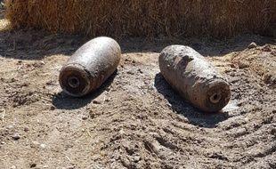 Deux bombes de la Seconde Guerre mondiale ont été neutralisées à Caen.