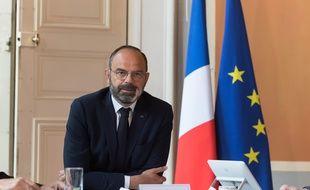 Edouard Philippe lors du comité interministériel sur le tourisme le 14 mai 2020.