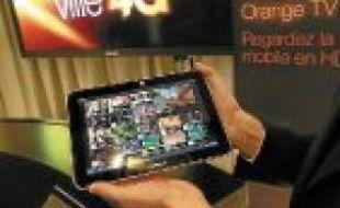 La télévision sur tablette, en 4G.