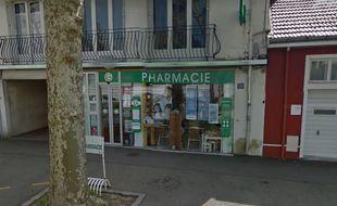 La pharmacie braquée.