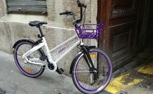 Indigo a déployé 1.000 vélos en libre-service sur une partie de Lyon et Villeurbanne en mars 2018.