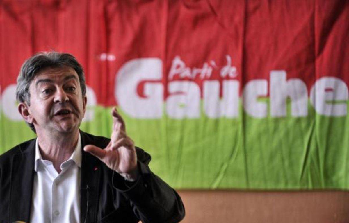 Jean-Luc Mélenchon lors des université d'été du Parti de Gauche, le 22 août 2014 à Saint-Martin d'Hères – Romain Lafabregue AFP