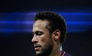 Neymar lors du match de Ligue des champions entre le PSG et Anderlecht, le 31 octobre 2017 au Parc des Princes.