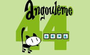 Logo du 44e Festival d'Angoulême