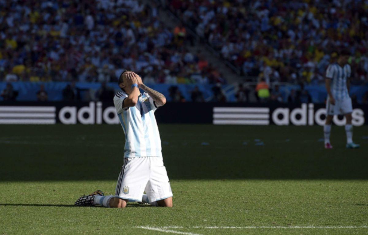 L'Argentin Angel di Maria face à la Suisse, le 1er juillet 2014. – Manu Fernandez/AP/SIPA