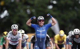 Cavendish s'impose sur la 4e étape.