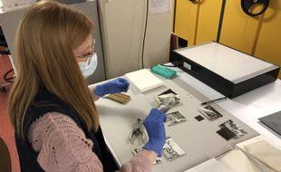 Le chantier de numérisation du fonds photographique du Musée de Bretagne va durer six ans.