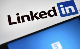 Le réseau social professionnel LinkedIn (illustration).