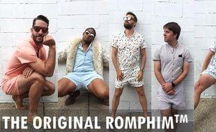 Le RompHim, premier combishort masculin.