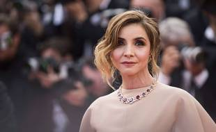 Clotilde Courau à Cannes le 13 mai 2015