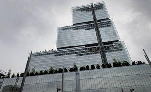 Le nouveau Palais de justice de Paris aux Batignolles. (Illustration)