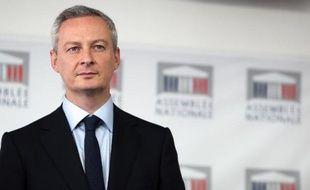 Le député UMP et ancien ministre Bruno Le Maire, en octobre 2013 à Paris