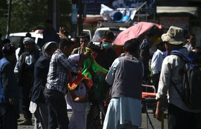 Kaboul sanglant attentat au coeur d 39 une manifestation for Portent of passage 1