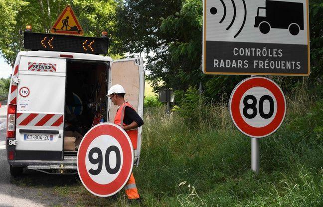 Limitation à 80 km/h: A l'Assemblée, un amendement veut donner le pouvoir d'augmenter la vitesse aux départements