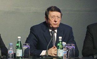 Dave Richards, vice-président de la Football Association, et président de la premier League, le 14 mars 2012, à Doha.