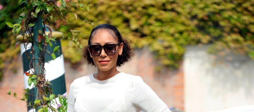 La chanteuse Mel B au Festival du Film de Venise