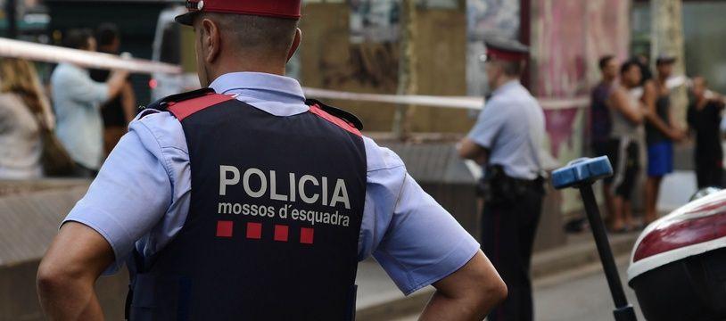 Illustration d'un policier espagnol.