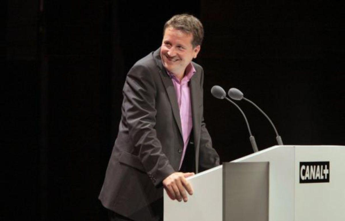 """Rodolphe Belmer, patron de Canal+, a fait part de son inquiétude à """"long terme"""" face à l'arrivée de beIn Sport, la chaîne du groupe qatari Al-Jazeera, un acteur """"potentiellement irrationnel économiquement"""". – Jacques Demarthon afp.com"""
