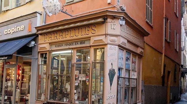 nice la plus vieille boutique de parapluies ferme ses portes d finitivement apr s 168 ans d. Black Bedroom Furniture Sets. Home Design Ideas
