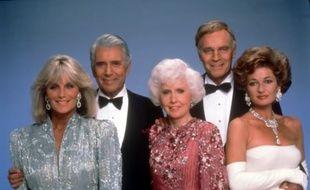 Les acteurs de la première version de la série «Dynastie».