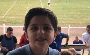 La blague d'un petit garçon de 8 ans a été partagée et vu plus des centaines de milliers fois sur les réseaux sociaux en quelques jours…