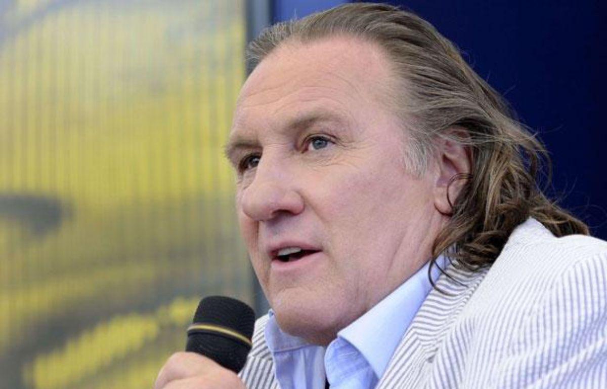 Gérard Depardieu au festival du film de Locarno (Suisse), le 9 août 2011. – AP/ SIPA / J.-C. Bott
