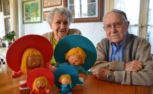Françoise et Italo Bettiol, les créateurs de la série «Chapi Chapo».