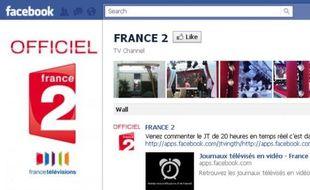 Page Facebook de France 2, le 30 mai 2011