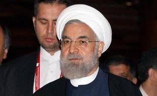 Le président iranien Hassan Rohani, le 23 avril 2015 à Jakarta, en Indonésie