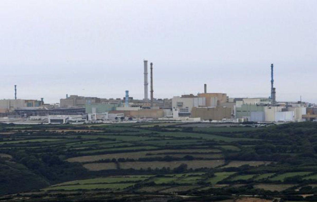 Le site de retraitement des déchets nucléaires à La Hague. – SIPA