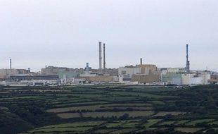 Le site de retraitement des déchets nucléaires à La Hague.